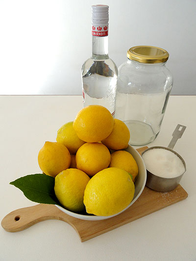 Consol Social Limoncello Ingredients