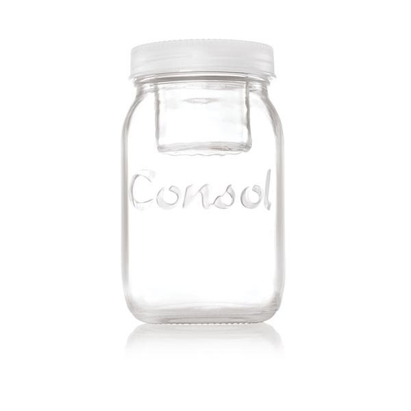 80076401 White Jar in a Jar
